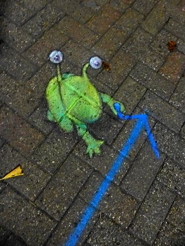 "Made by streetartist ""david zinn"" - #streetart #aryz - Click for more streetart"