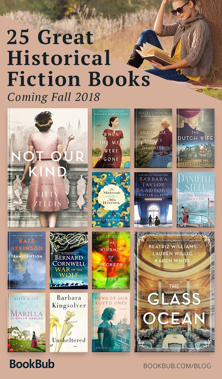 The Best Historical Fiction Books Of The Fall In 2019