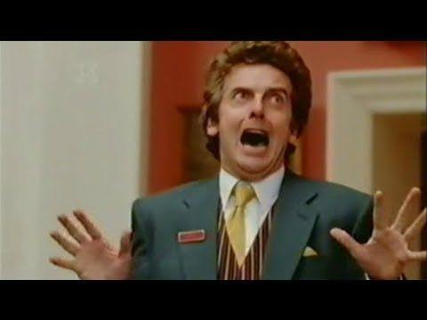 Singing We Got Trouble Hilarious Hotel Peter Capaldi Art