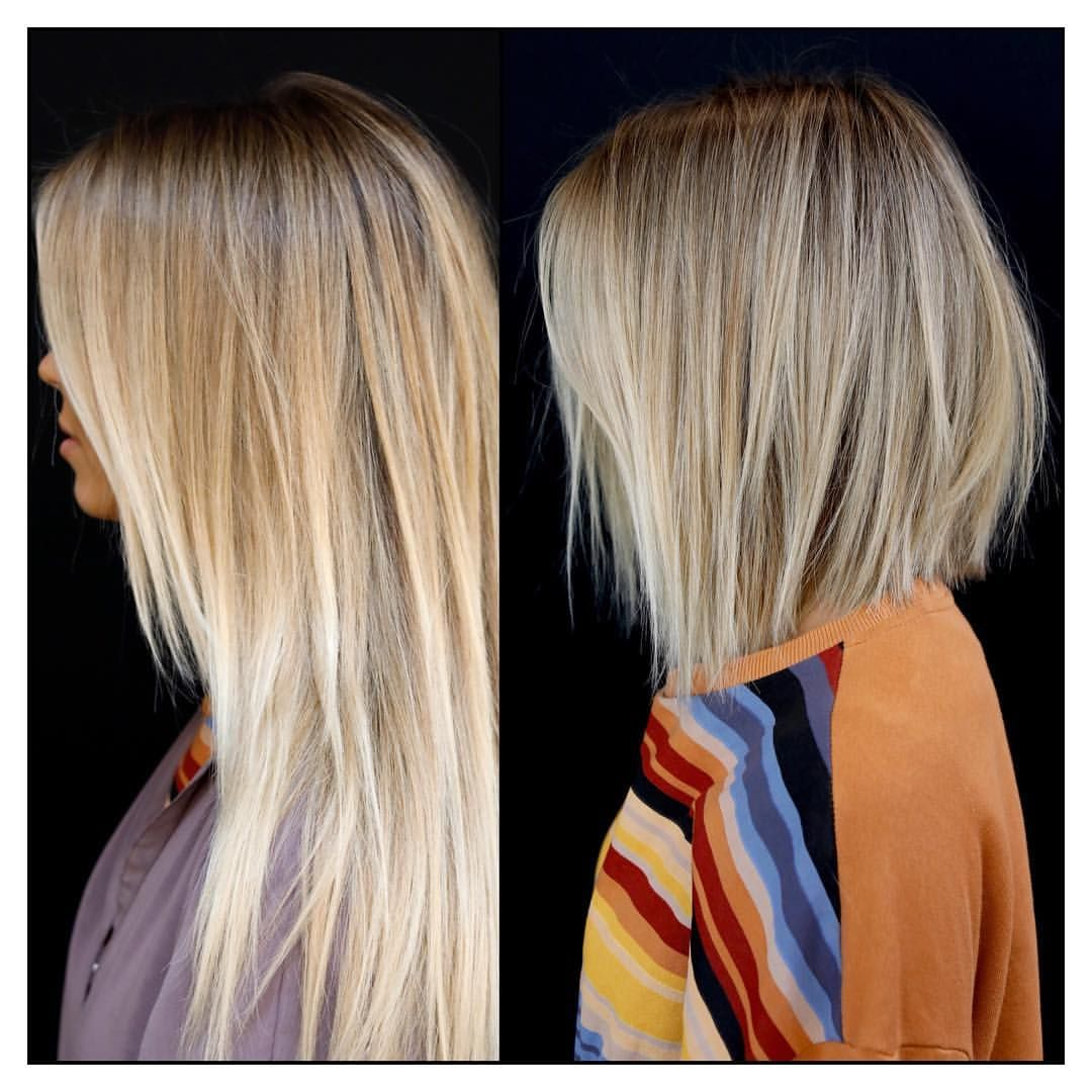 6 941 Likes 70 Comments Los Angeles Nyc Hairstylist Anhcotran On Instagram Snip Snip Color Haircut For Thick Hair Hair Styles Short Hair With Layers
