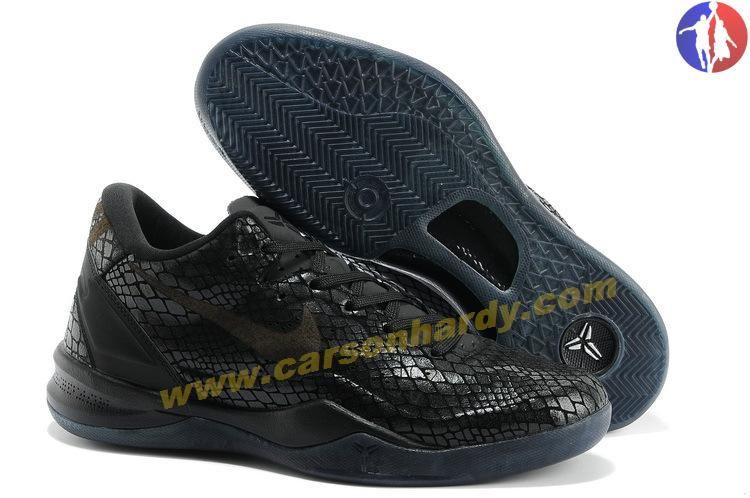 Nike KOBE 8 GC EXT ALL BLACK SHOES