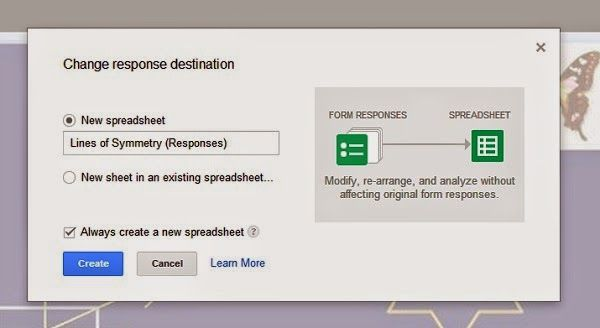 Google Forms Tip Changing Response Destination Here\u0027s a quick tip - google spreadsheet login