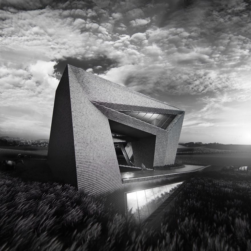 House in Ordos  Dieguez-Fridman Architects