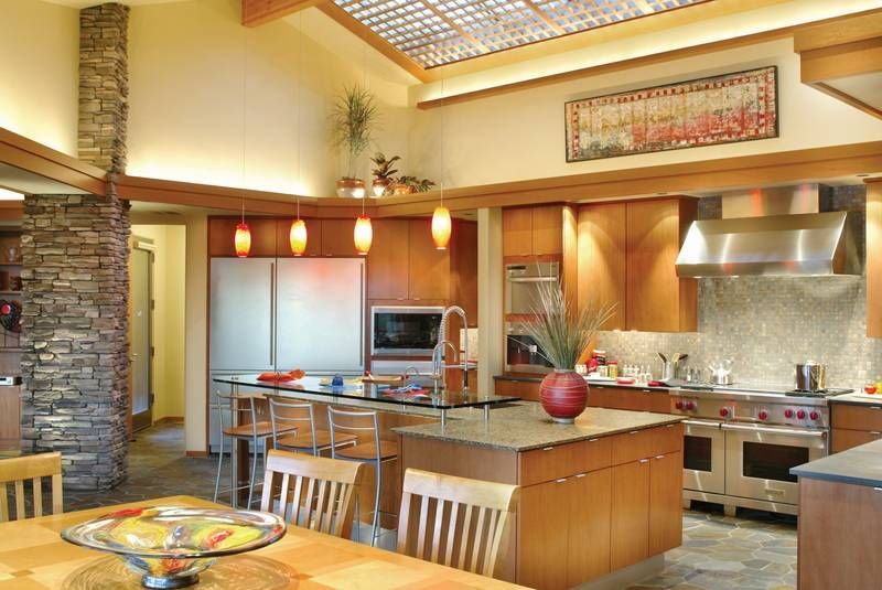 Contemporary - The Harrisburg. Love the big fridge. Ahhhhhhh!!! In ...