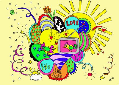 art, draw, illustration, love, made with colors