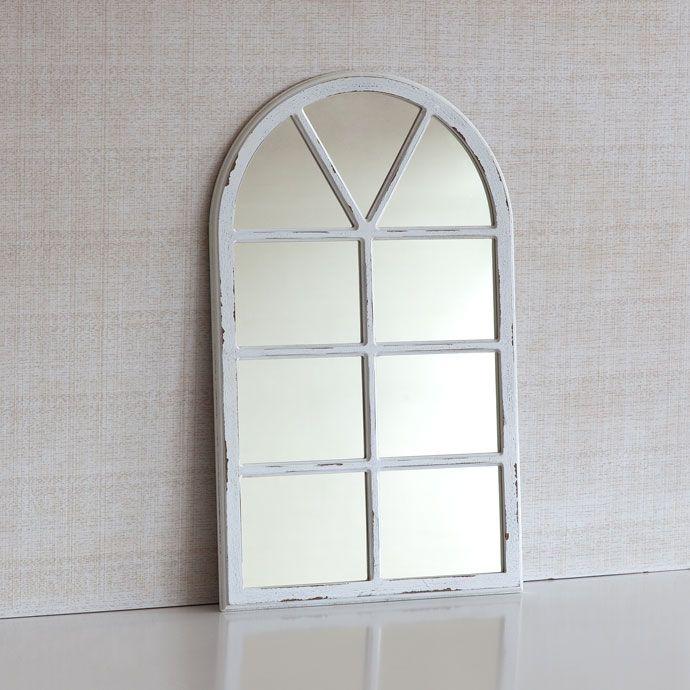espejo madera forma ventana otro espejos espejos