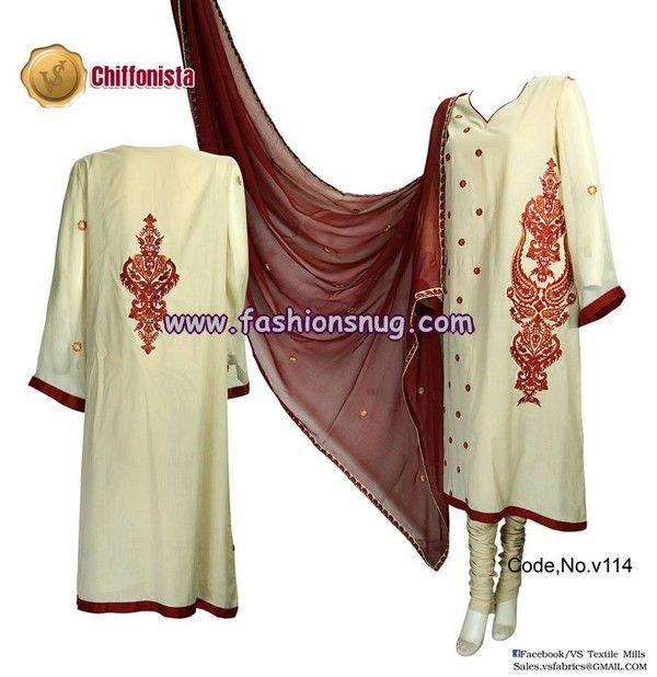 VS Textile Mills Summer Fashion Dresses 2013 For Women