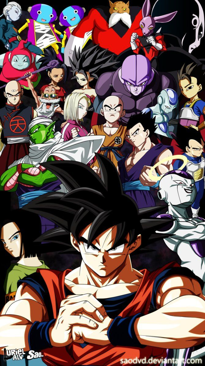 Dragon Ball Super Thanks For 4 Ages By Saodvd ドラゴンボール