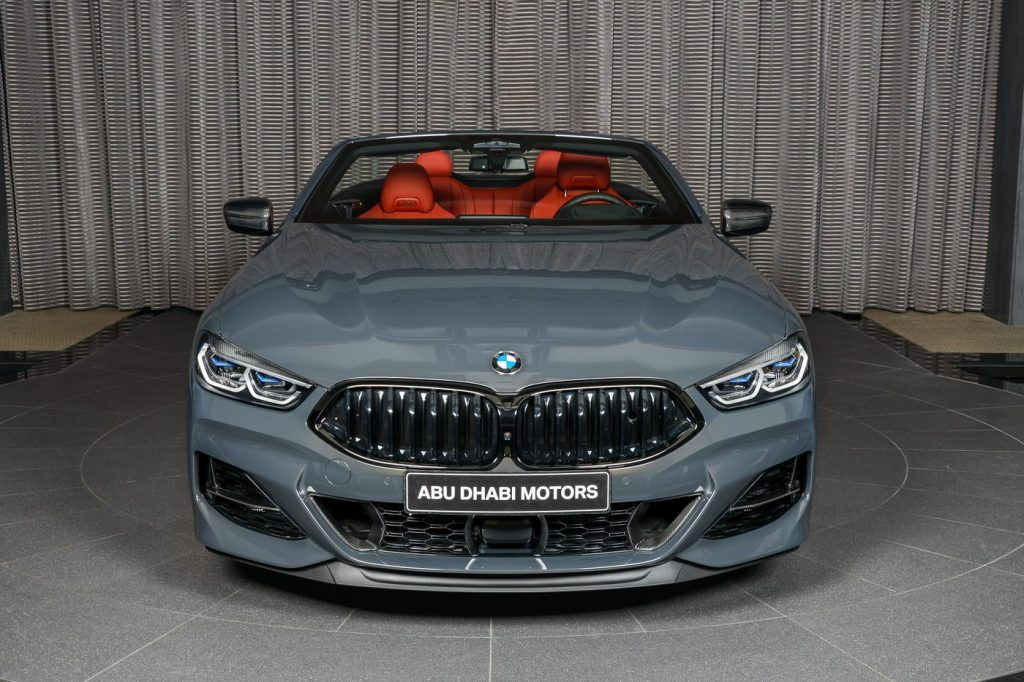 Who Said Grey Is Boring Bmw M850i Xdrive Convertible In Individual Dravit Grey Carscoops In 2020 Bmw Convertible Bmw S