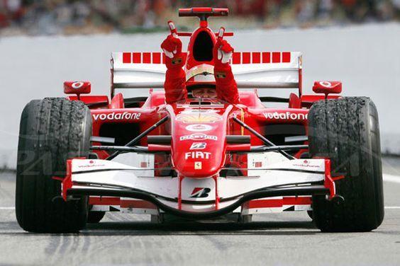 2006 Michael Schumacher, Ferrari 248 F1,: | Ferrari, Pilot, Auto da corsa