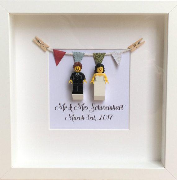 LEGO personalisiert Hochzeit Geschenk Jahrestag Geschenk