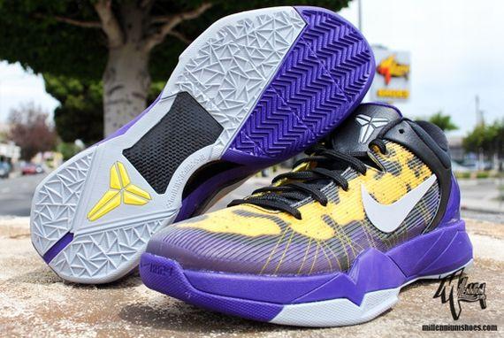 a7008f091b7a Nike Zoom Kobe VII  Poison Dart Frog  - Lakers