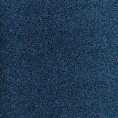 Dilour Color Blue Texture 18 In X 18 In Carpet Tile 12 Tiles Case To Potentially Use In The Interesting Hall Texture Carpet Wall Coverings Carpet Tiles
