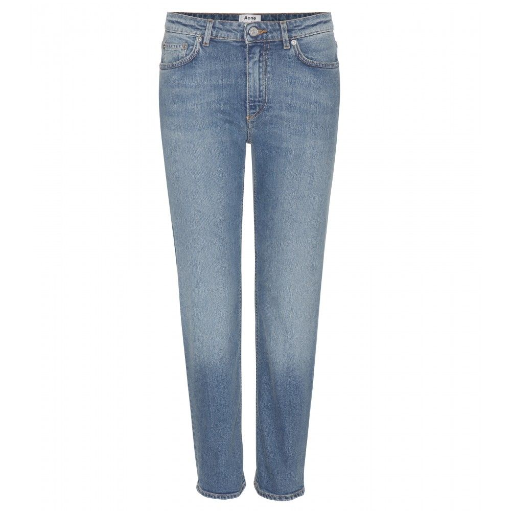Acne Studios - Row jeans - Put your skintight jeans to the side for summer and try out this slimmer, slightly more relaxed style from Acne Studios. The cropped length is fantastic for showing off your favourite shoes of the moment. seen @ www.mytheresa.com
