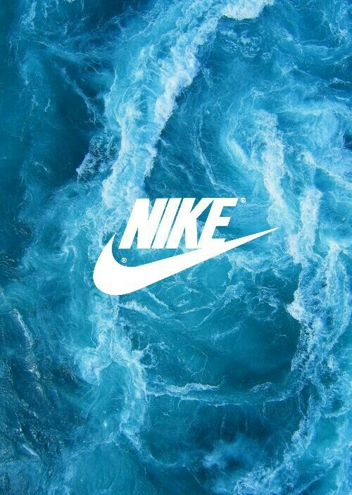 Blue Nike Light Wallpaper