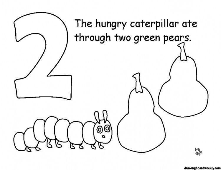 - Very Hungry Caterpillar Coloring Page In 2020 (With Images) Hungry  Caterpillar, Very Hungry Caterpillar Printables
