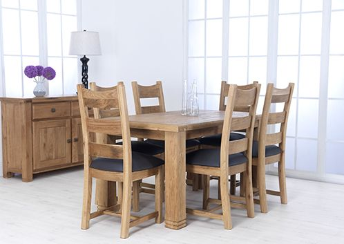 Danube Dining Table Fixed 150 Cm Dining Table Table Dining