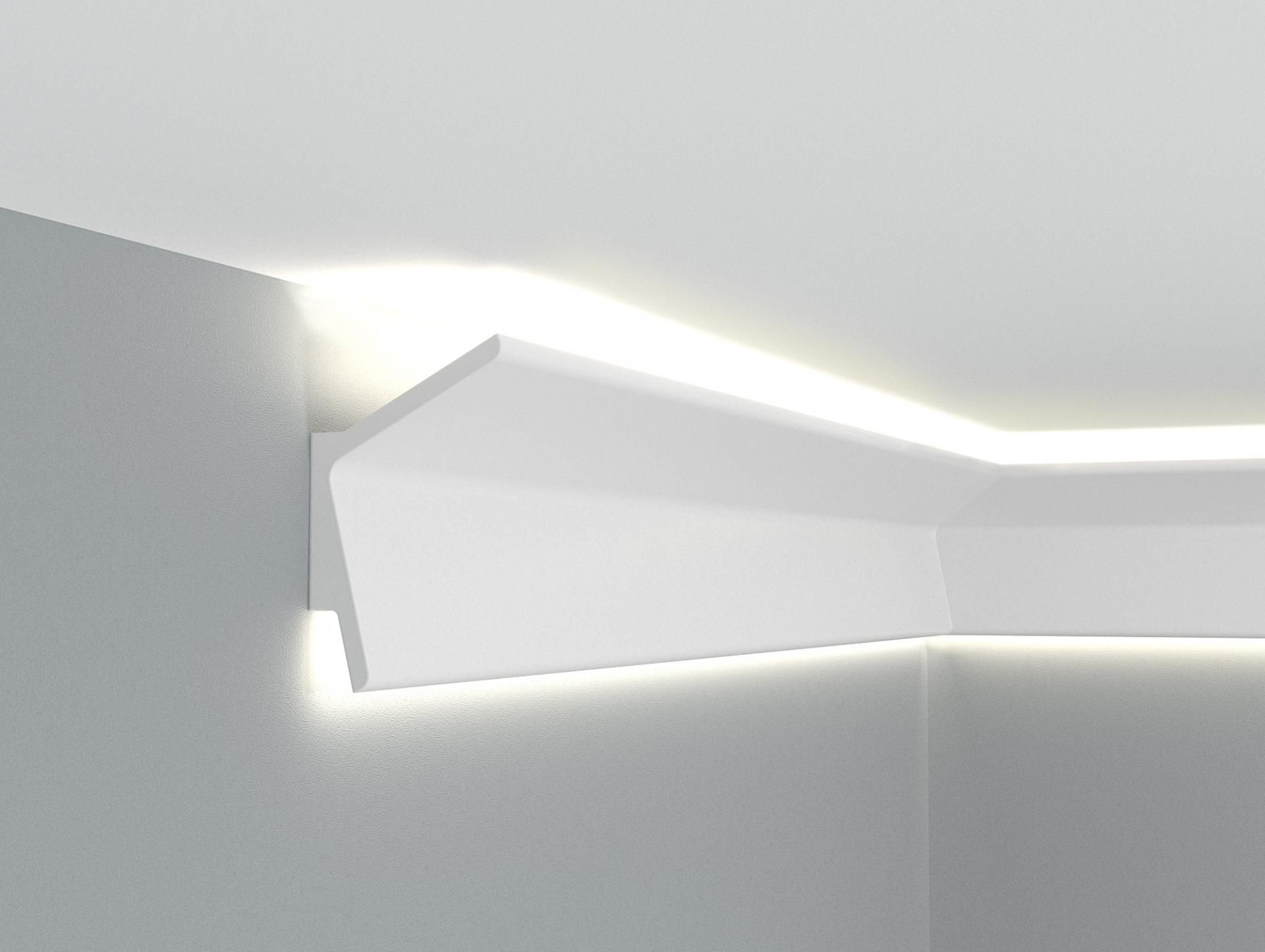 Corniche Plafond Led Illuminazione Idee