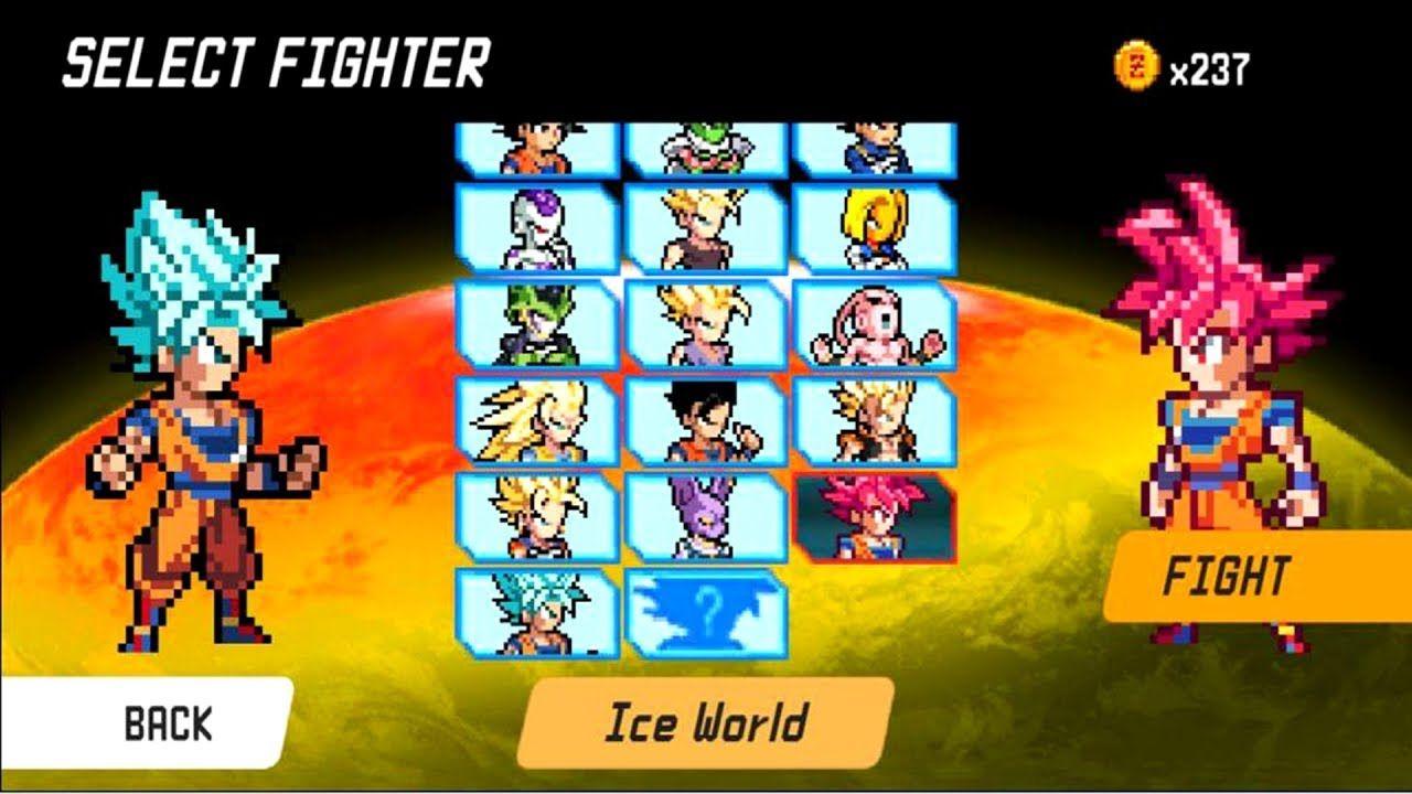 Dragon World Saiyan Warrior Unlock Goku Super Saiyan Blue Android G Goku Super Saiyan Blue Goku Super Saiyan Super Saiyan