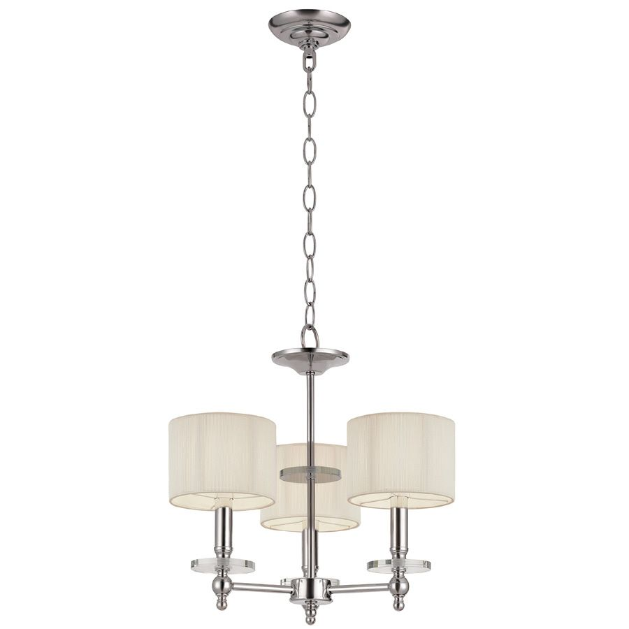 Shop portfolio 3 light chandelier at lowes dining rooms portfolio white chandelier for powder room arubaitofo Images