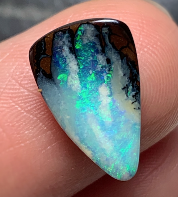 Australian Boulder Opal from Signature Opal  Mined in Jundah QLD Australia