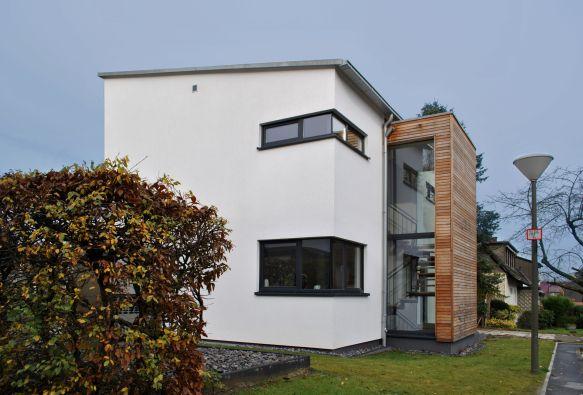 Treppenhaus einfamilienhaus außen  Treppenhaus aussen auf bauemotion.de, MHP Architekten | Stairs ...