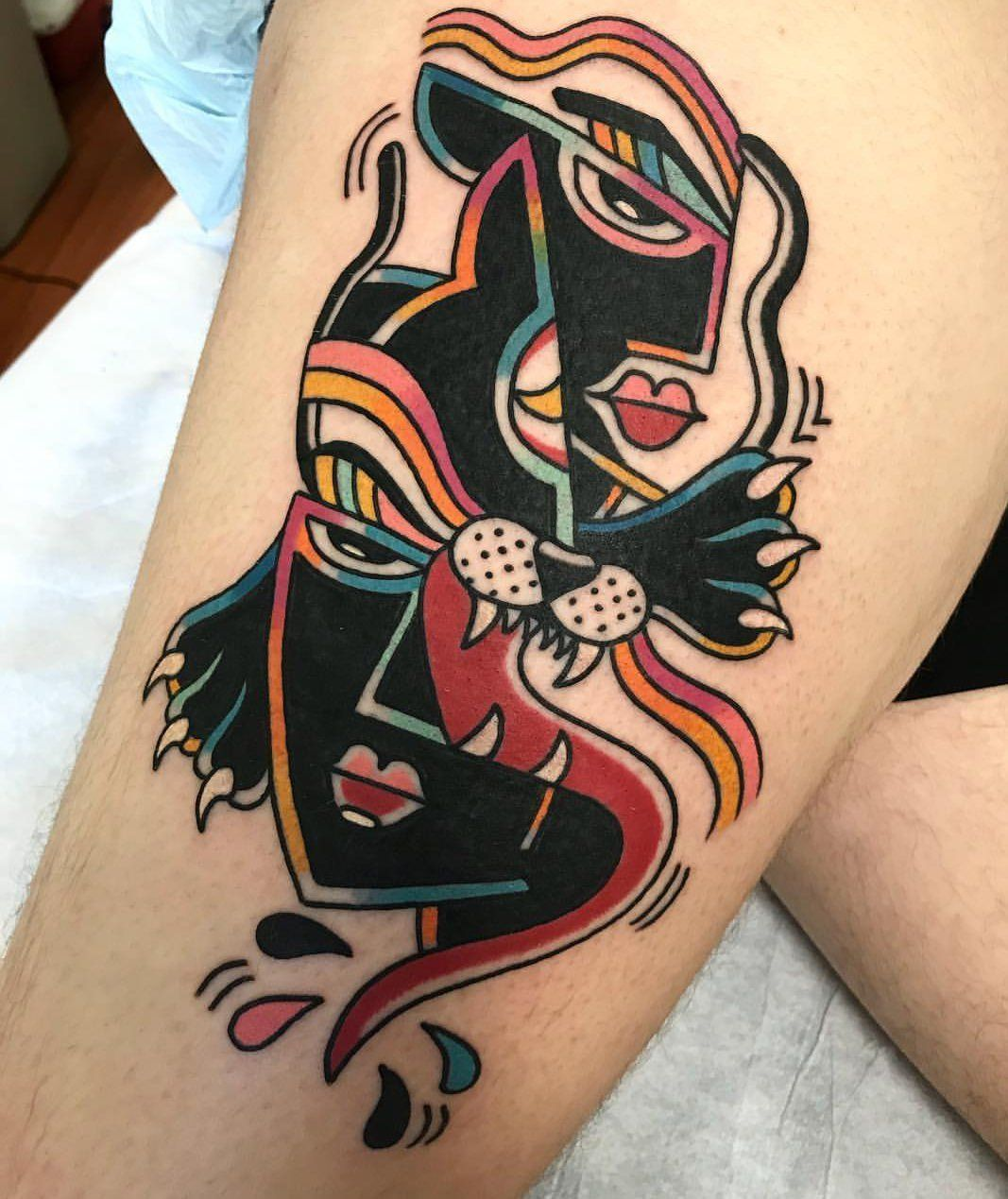 Deconstructed Panther Done by Joey Cassina at Ocean