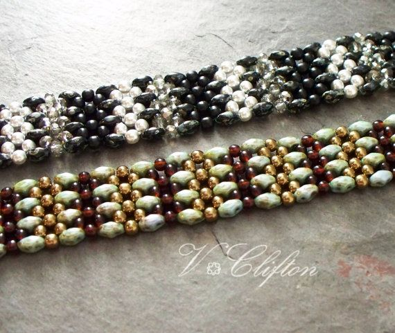 Beaded Bracelet Tutorial RAW using Super by VCArtisanOriginals
