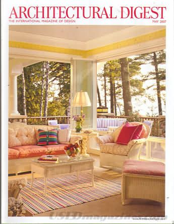 Architectural Digest May 2007