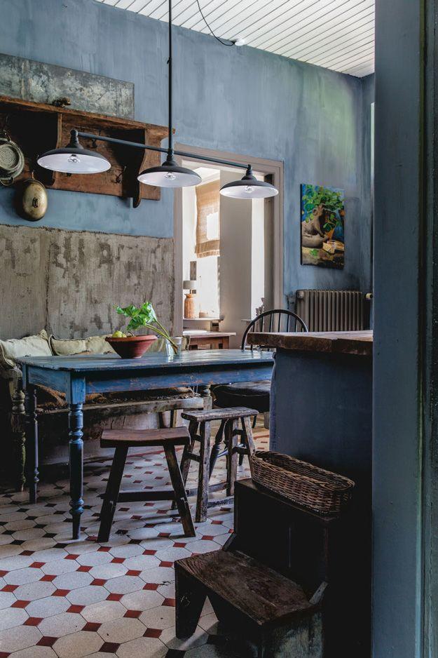 Une Maison Au Style Rustique Patine En Allemagne Planete Deco A