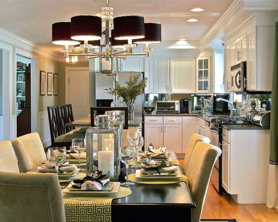 Kitchen Dining Room Remodel Simple Kitchen Dining Table Decor Design Pictures Remodel Decor And Design Inspiration
