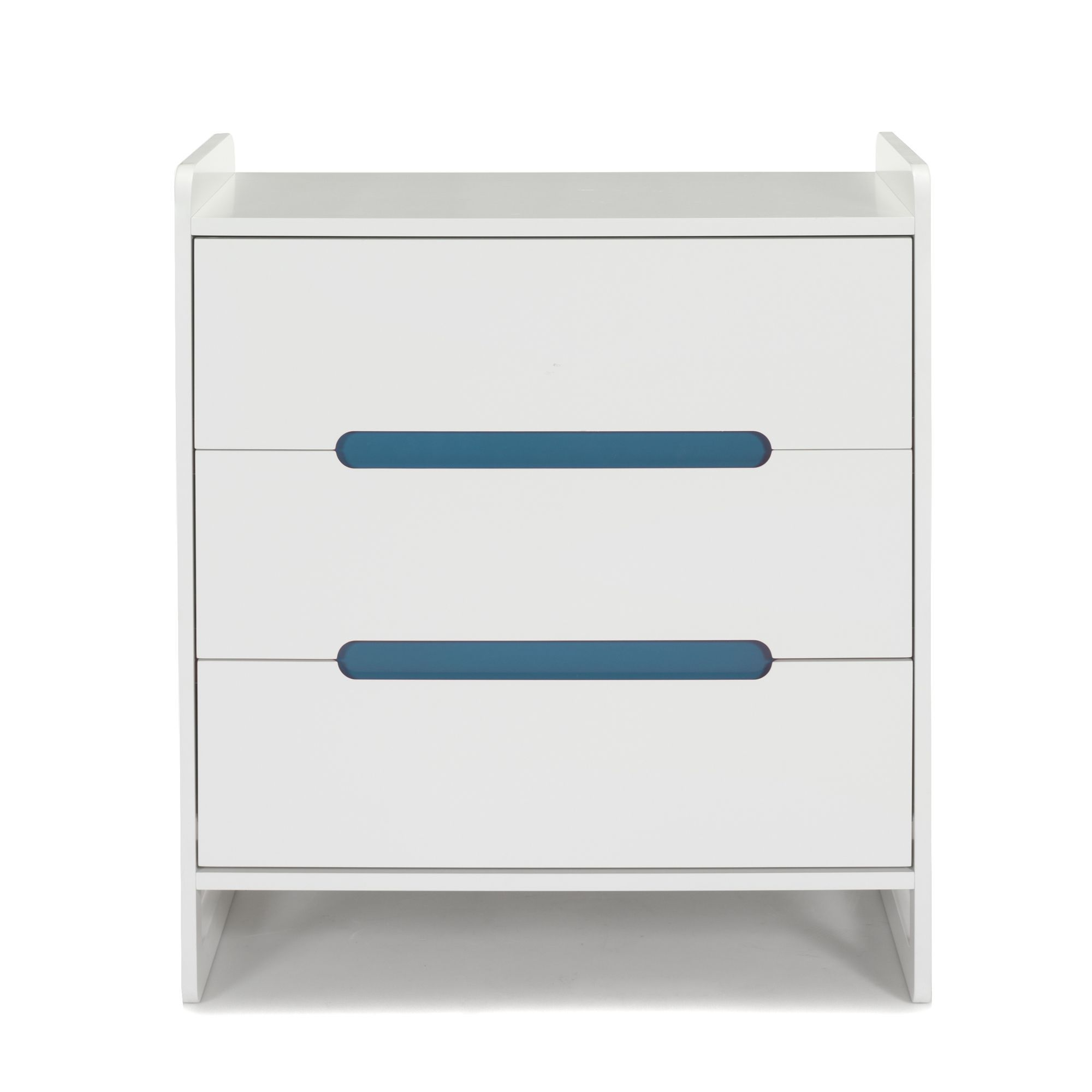good commode enfant tiroirs poignes rversibles bleues roses noa les armoires et with commode. Black Bedroom Furniture Sets. Home Design Ideas
