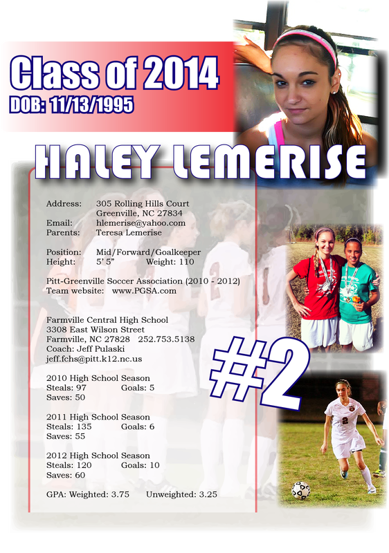 Soccer Resume College Recruiting High School Soccer Recruitment Resume
