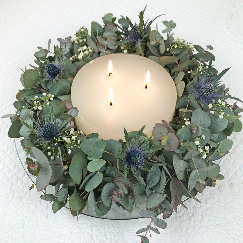 Eukalyptus Kranz #adventkransen