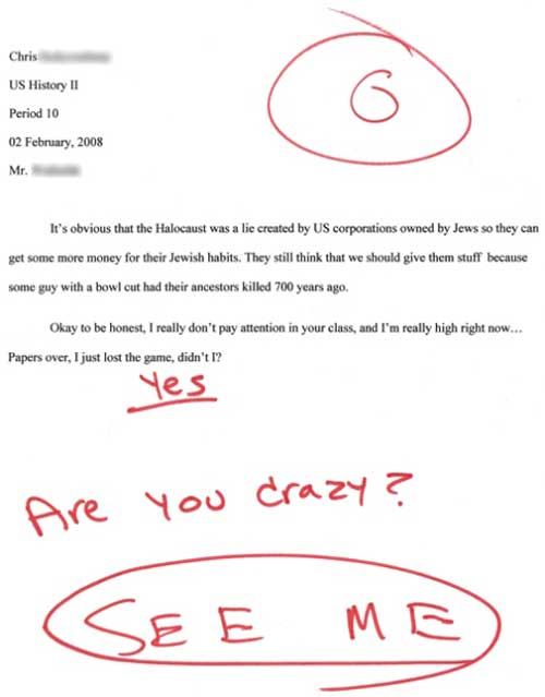 Best admissions essay ever