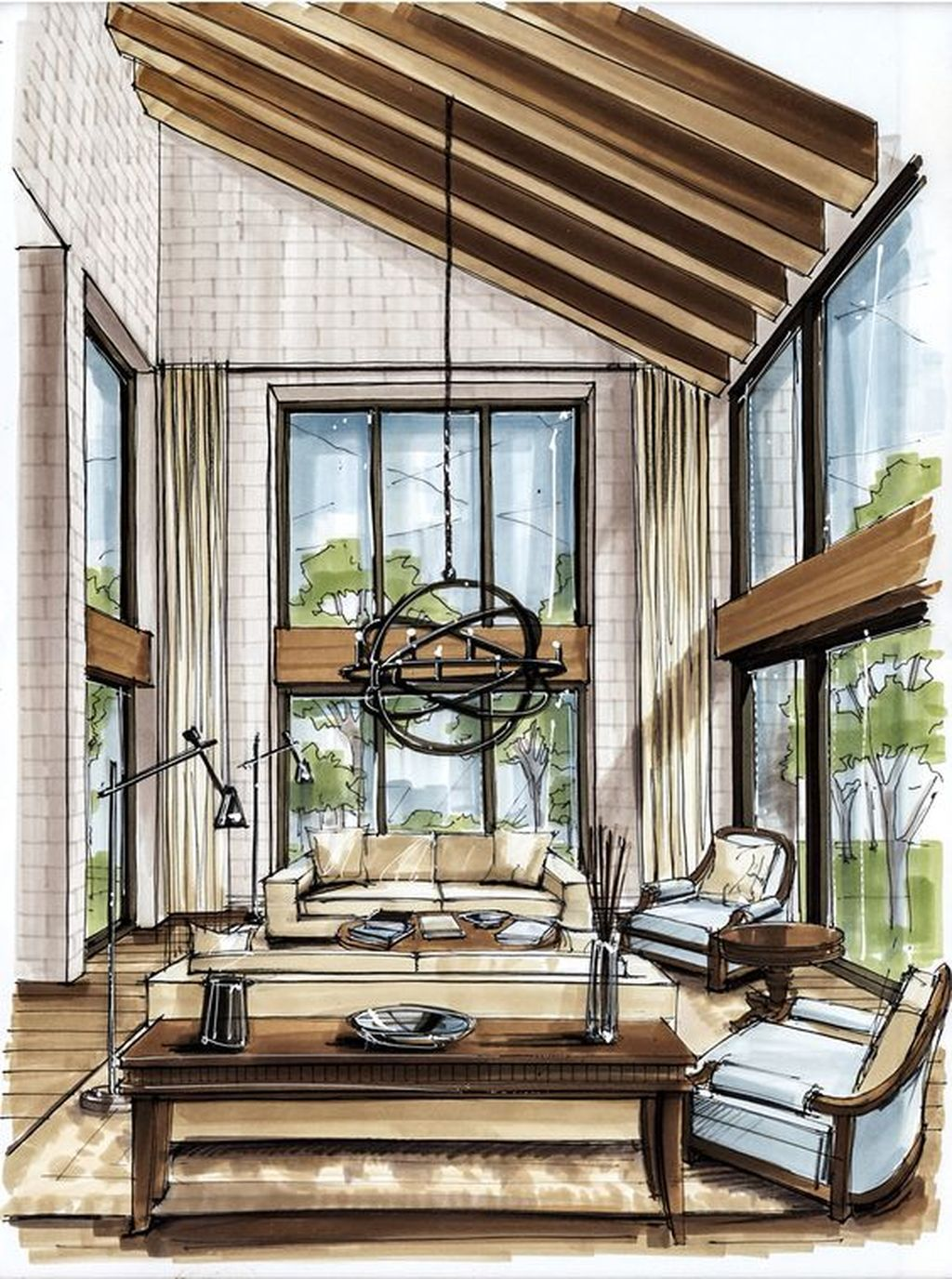 17 Mesmerizing and Detail Architectural Drawing ...