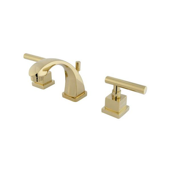 Photo of Rio Mini-Widespread Bathroom Faucet with Pop-up