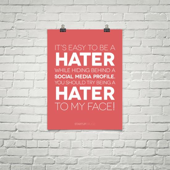 Social Media, Marketing Quotes, Poster