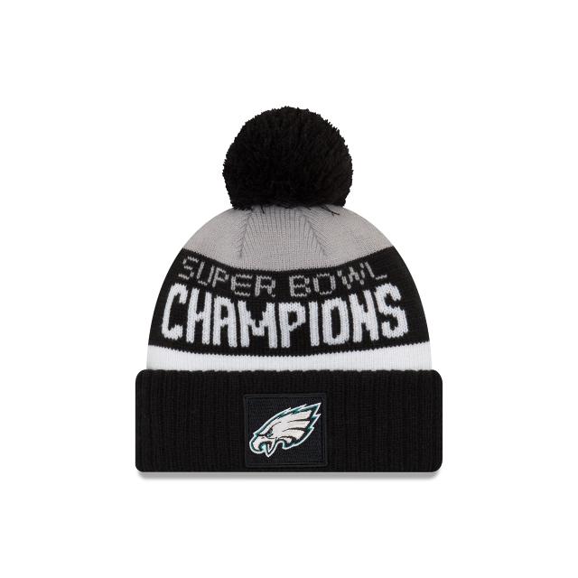 91006935c PHILADELPHIA EAGLES SUPER BOWL CHAMPS PARADE POM KNIT | NFL ...