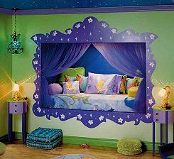 Tinkerbell Fairy Bedroom Decorating Ideas, Fairy Tink Disney Fairy   Funky  Fairy   Fairytale Decorating