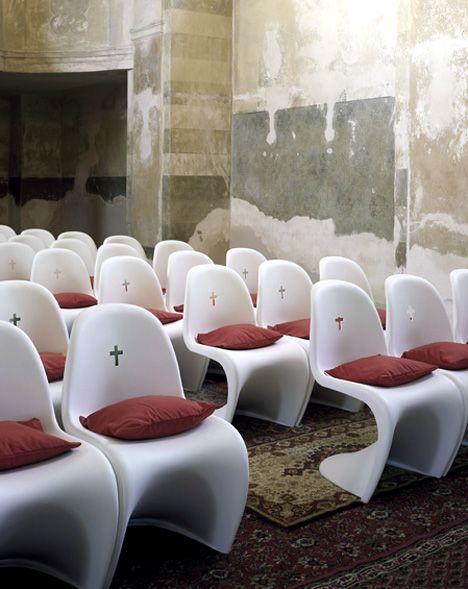 Verner Panton Chapel Chairs Modern Church Panton Chair Church