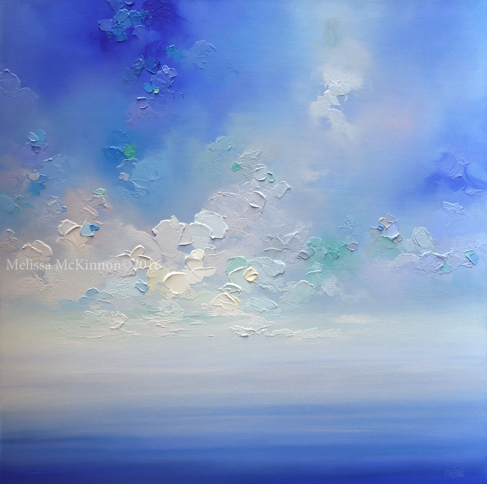 Saje Natural Wellness Melissa Mckinnon Contemporary Art In 2020 Sky Painting Contemporary Landscape Artists Ocean Painting