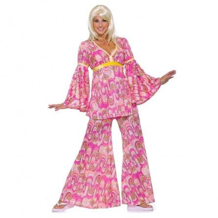 Flower Power Hippie 60s Costume Hippie costume, Costumes and