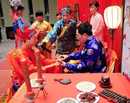 Asian marriage traditions in culture