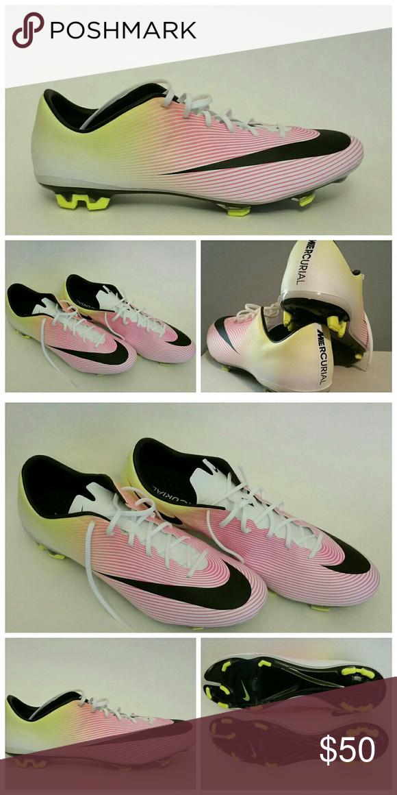 Nike Mercurial Vapor X FG SZ 13 NWOB. No bag Never worn. Size 13 Nike Shoes  Athletic Shoes 8ca533abd