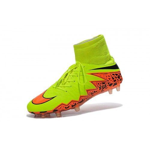 competitive price 0fba8 9f72d Nike Hypervenom - Horký Nike Hypervenom Phantom II FG Žlutý Oranžový Kopačky  Football Boots, Football