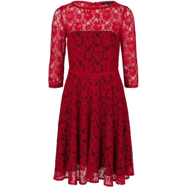 Taylor swift red lace dress french connection