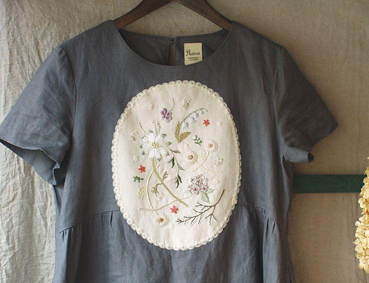 1点ものの洋服・刺繍 / Rairaiのホームページ