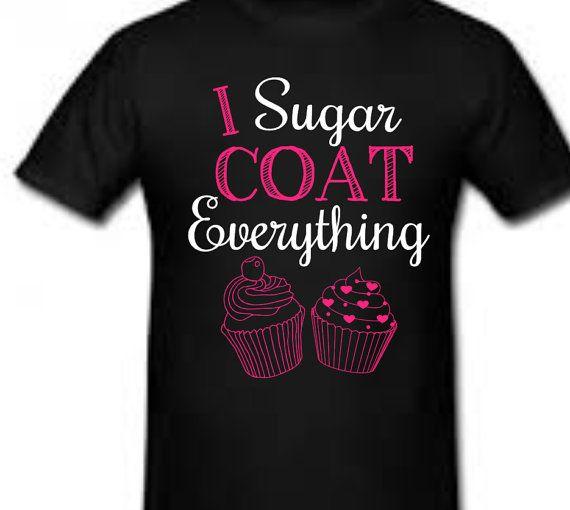 Funny Novelty Sweatshirt Jumper Top Cupcake Queen