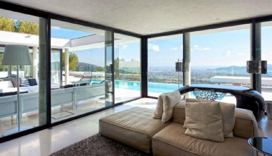 Sleek awesome dream home.